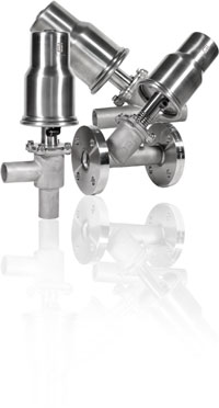 ITALBERTA TWO-WAY FREE FLOW VALVES