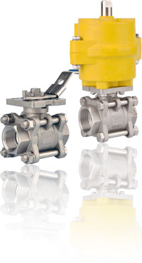 ITALBERTA THREE-WAY BALL VALVES